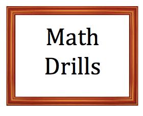 Math Drills logo