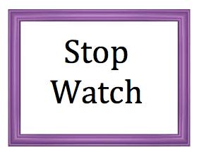 Stop Watch logo